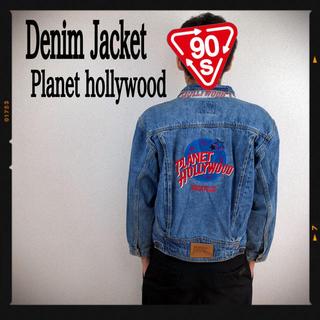 Levi's - プラネットハリウッド デニムジャケット 90s Gジャン ハードロックカフェ