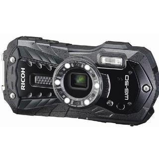 リコー(RICOH)のRICOH 防水デジタルカメラ RICOH WG-50 ブラック 防水14m(コンパクトデジタルカメラ)