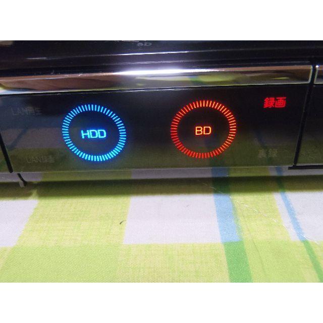 SHARP(シャープ)のHDD1TB 2番組同時録画 AQUOS ブルーレイレコーダー BD-HDW80 スマホ/家電/カメラのテレビ/映像機器(ブルーレイレコーダー)の商品写真