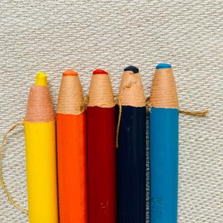 ミツビシ(三菱)のダーマトグラフ 5色(色鉛筆)