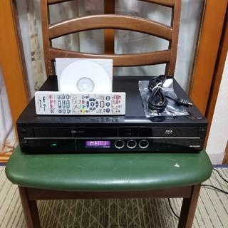 シャープ(SHARP)の希少一台四役美品!シャープVHS/HDD/ブルーレイレコーダーBD-HDV22(ブルーレイレコーダー)