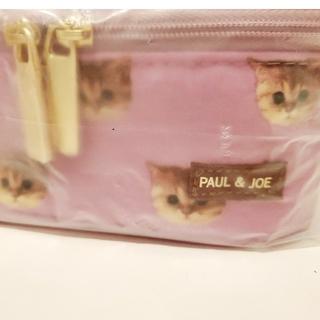 ポールアンドジョー(PAUL & JOE)の【非売品/未開封】Paul & JOE 猫総柄 ポーチ(ポーチ)