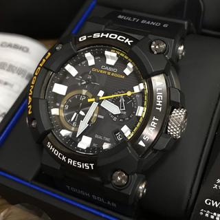 ジーショック(G-SHOCK)の【国内正規品】フロッグマン GWF-A1000-1AJF(腕時計(アナログ))