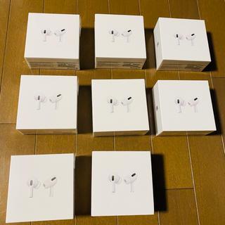 Apple - 【新品・未開封】AirPodsPro  MWP22J/A  8台