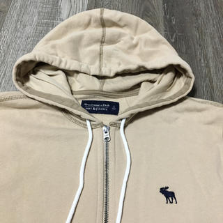 Abercrombie&Fitch - Abercrombie&Fitch アバクロアイコン刺繍フルジップフーディ新品