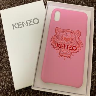 ケンゾー(KENZO)のKENZO iPhoneXR用 タイガーケース ピンク(iPhoneケース)