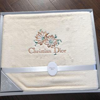 クリスチャンディオール(Christian Dior)の【新品未使用】Christian Dior ボアシーツ(シーツ/カバー)