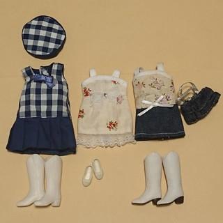 タカラトミー(Takara Tomy)のリカちゃん リカちゃん用 ドレス 靴 帽子 バッグのセット(ぬいぐるみ/人形)