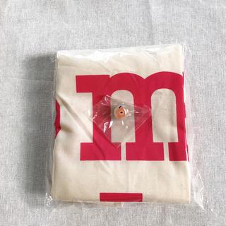 マリメッコ(marimekko)の新品 マリメッコ  トートバッグ ノベルティ ピンバッジ 非売品(エコバッグ)