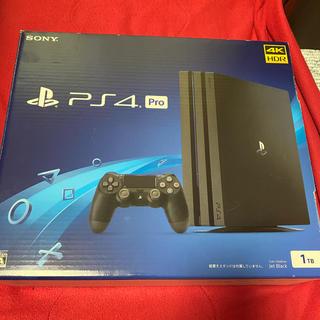 PlayStation4 - PS4Pro Jet Black CUH-7200 BO1 1TB