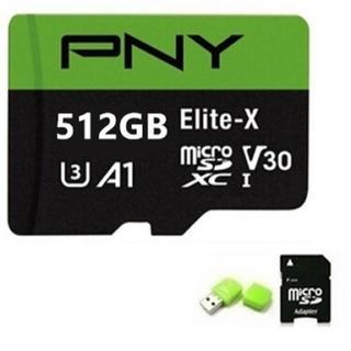 ✨激安✨PNY Elite-X 512GB microSD マイクロSD