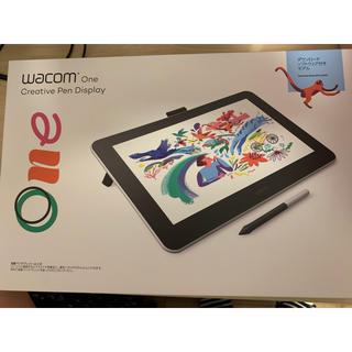 ワコム(Wacom)の美品 Wacom one 13.3インチ 液晶ペンタブレット(PC周辺機器)