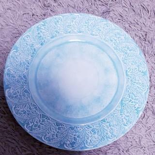 アフタヌーンティー(AfternoonTea)のAfternoonTea 円型 ライトブルー プレート(食器)