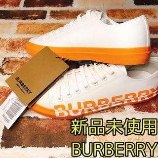 BURBERRY - 【新品未使用】BURBERRY スニーカー 42.43タグ付き