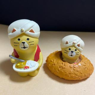 デコレ コンコンブル カレー猫ちゃんセット(置物)