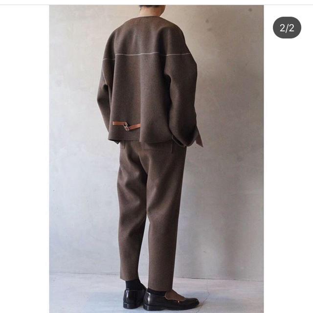 SUNSEA(サンシー)のsunsea melton pants 19aw メンズのパンツ(スラックス)の商品写真