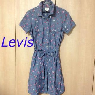 リーバイス(Levi's)のLevis 花柄コットンワンピース(ひざ丈ワンピース)