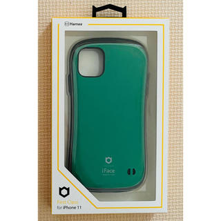 [新品未使用]iFace iPhone11 ピュアグリーン ケース