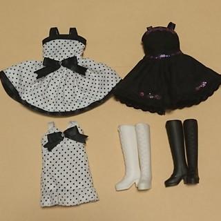 タカラトミー(Takara Tomy)のリカちゃん リカちゃん人形用 ドレス ブーツ(ぬいぐるみ/人形)
