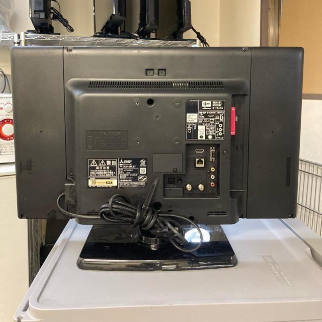 三菱(ミツビシ)の三菱 24インチ液晶テレビ★ lcd-24lb7 スマホ/家電/カメラのテレビ/映像機器(テレビ)の商品写真