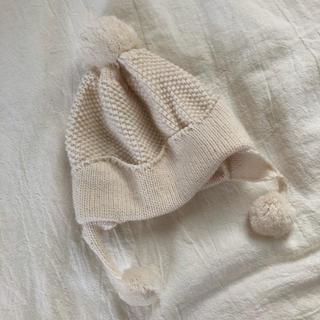 プティマイン(petit main)の* ベビークラウンニット帽 *(帽子)