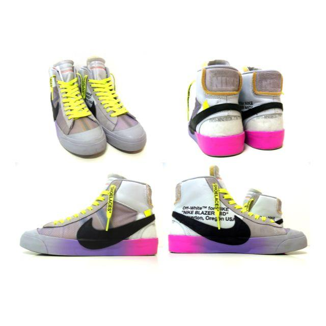OFF-WHITE(オフホワイト)のナイキ×オフホワイト■THE10 BLAZERセリーナブレザースニーカー メンズの靴/シューズ(スニーカー)の商品写真