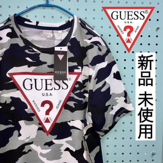 GUESS - 新品 未使用  GUESS  メンズ 迷彩Tシャツ  サイズS