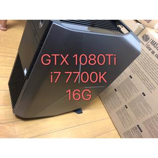 DELL - Alienware ゲーミングPC 7700K/16GB/GTX1080Ti