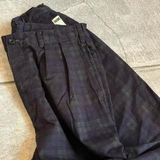 BEAMS - SSZ 3P柄パンツ XLサイズ ブラックウオッチ