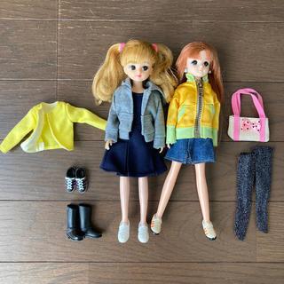 タカラトミー(Takara Tomy)のリカちゃん  さくらちゃん veryコラボお洋服などセット(ぬいぐるみ/人形)