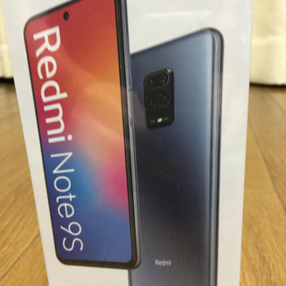 ANDROID - Redmi Note 9s オーロラブルー64G