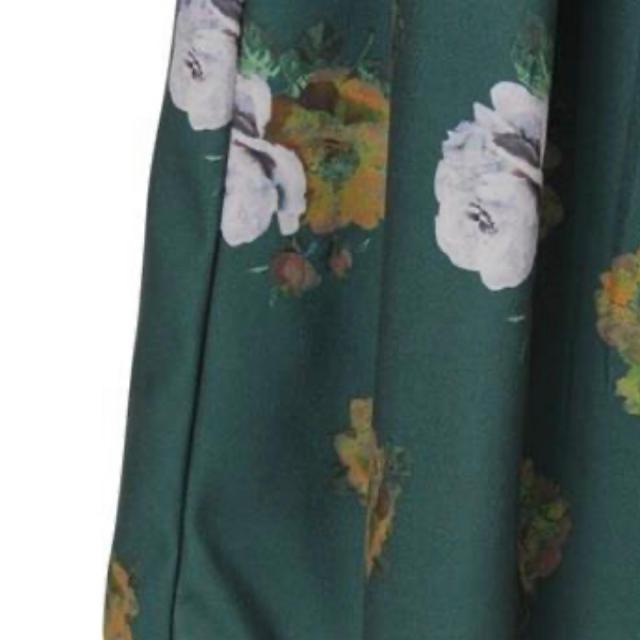 dazzlin(ダズリン)のdazzlin ヴィンテージローズミディスカート レディースのスカート(ひざ丈スカート)の商品写真