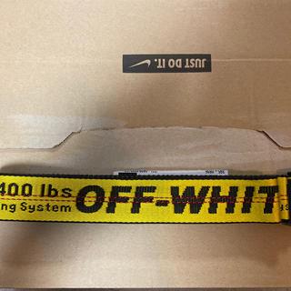 オフホワイト(OFF-WHITE)のOff-White オフホワイト ベルト(ベルト)