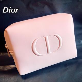 Dior - Dior ディオール CD ロゴ ピンク ポーチ ノベルティ コスメポーチ