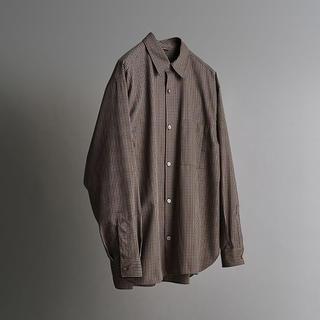 ハレ(HARE)のLIDNM 20aw チェックシャツ(シャツ)