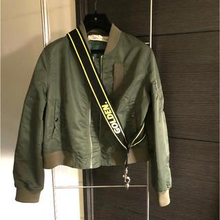 GOLDEN GOOSE - GOLDEN GOOSE MA-1 Bomber jacket