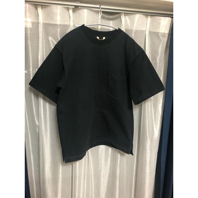 COMOLI(コモリ)のauralee   スタンドアップT メンズのトップス(Tシャツ/カットソー(半袖/袖なし))の商品写真