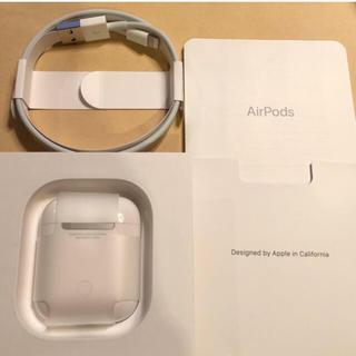 Apple - 超美品 Apple AirPods MMEF2J/A 第一世代