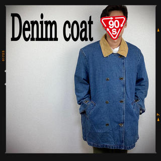 Levi's - デニムジャケット デニムコート 90s リーバイス USA 古着 濃紺 リー