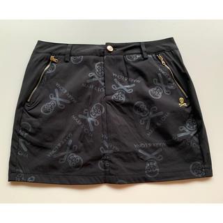 マークアンドロナ(MARK&LONA)のMARK&LONAマークアンドロナ ゴルフスカート黒  M(ウエア)