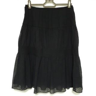 ナチュラルビューティーベーシック(NATURAL BEAUTY BASIC)のNATURAL BEAUTY BASIC♡シフォンスカート(ひざ丈スカート)
