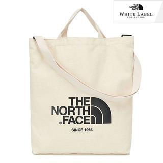 THE NORTH FACE - 国内未入荷 ノースフェイス ホワイトレーベル ビッグロゴ トート バッグ【白】