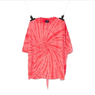 PEACEMINUSONE - PMO TIE-DYE T-SHIRT #5 RED