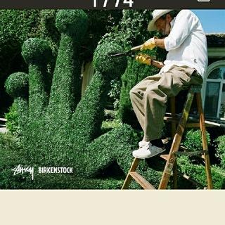 ステューシー(STUSSY)のBIRKENSTOCK × STUSSY boston CM28(サンダル)