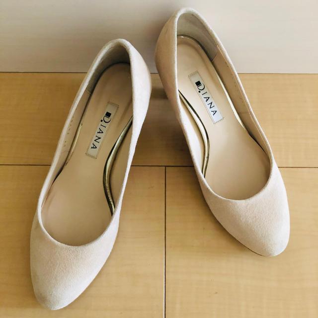 DIANA(ダイアナ)のDIANA スエード パンプス レディースの靴/シューズ(ハイヒール/パンプス)の商品写真