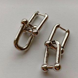 ティファニー(Tiffany & Co.)のlink pierce(silver)(ピアス)