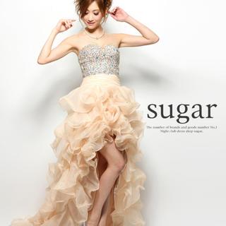 エンジェルアール(AngelR)のタイムセール大人気 Angel R ショートインロングドレス キャバドレス(ナイトドレス)