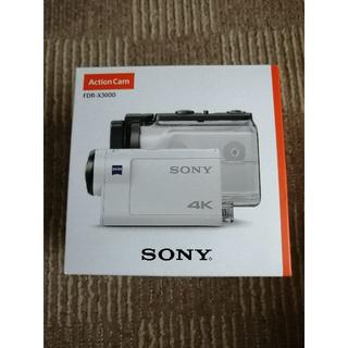 ソニー ウエアラブルカメラ  FDR-X3000