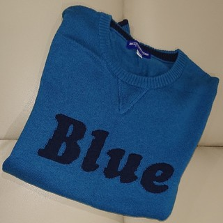 BURBERRY BLUE LABEL - バーバリーブルーレーベル 綿ニット