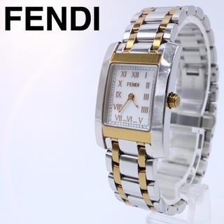 フェンディ(FENDI)の人気【付属品】FENDI 7000L コンビ オロロジ スクエア レディ 腕時計(腕時計)